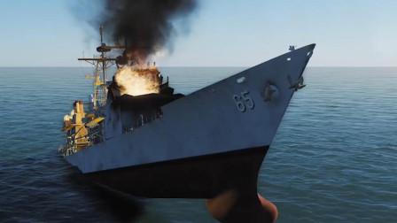 一比二,055驱逐舰,对阵10艘提康德罗加级巡洋舰会怎样?战役模拟