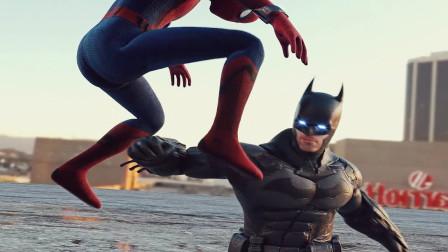 蜘蛛人对神小悟空返乡对蝙蝠侠对超人的不公正对战