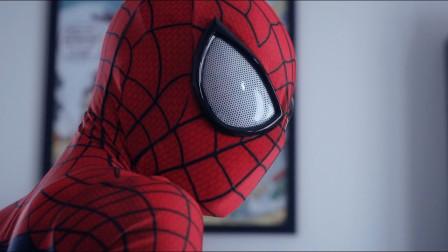 奔跑在路上的家伙秒变蜘蛛侠,搞怪的各种样子哈哈
