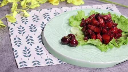 """大厨教你做正宗的""""樱桃肉"""",做法简单,香甜软糯,味道特别棒!"""