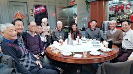 铝材车间部分退休职工聚餐聚会 通如编辑制作于广州