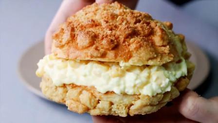 最方便的面包制作,既简单又好吃!韩国美食主播小哥在线教学