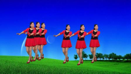 广场舞《黄土之恋》民间歌曲,优美步伐,简单易学