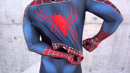美国肌肉男秒变蜘蛛侠,帅到没朋友