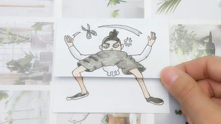 下蹲修炼刺客伍六七还是那样帅气?用一幅趣味漫画告诉你