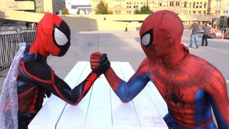 蜘蛛侠四兄弟的比拼之保护国家