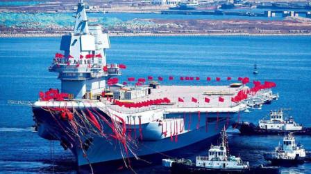 中国首艘国产航母!山东舰入列中国海军,双航母时代终于来临