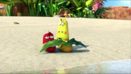爆笑虫子:黄虫骚操作,放屁熏晕了自己