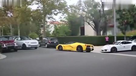 四千万刚买的法拉利跑车,一脚油门下去,车主欲哭无泪视频