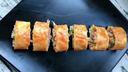 教你用剩米饭做蛋包饭,做法简单易学,方便省时,学会做给家人吃