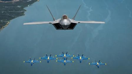 一架F22能击败20架中国战机?局座:根本不用我们空军动手