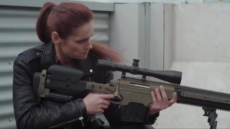 终极正义:女狙击手远距离开枪,男子通过子弹壳认出人来