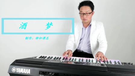 《童欣.酒梦》电子琴音乐