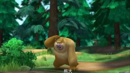 熊出没之夺宝熊兵光头强变身肌肉男,要打败熊大熊二