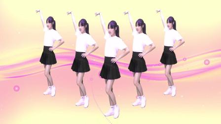 一首《兄弟干杯》DJ广场舞版,小姐姐舞姿妖娆,美腻了