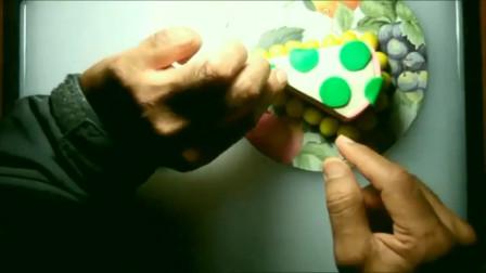 用橡皮泥制作蛋糕