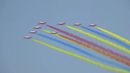 珠海航展,红鹰表演队,空中飞行表演