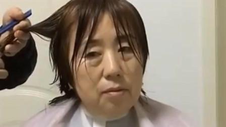 中年女人头发别乱剪,专业发型师这样设计,显得年轻又好看