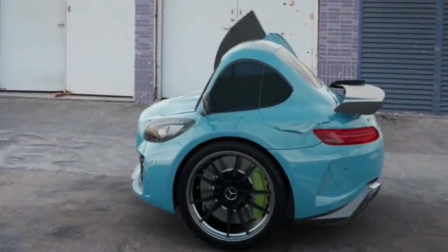 小伙突发奇想,竟制造出两个轮子的汽车,这种汽车真的可以上路吗?