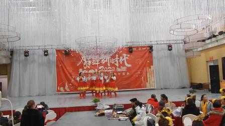 安州区河清李代英舞队舞蹈《青春踢踏》