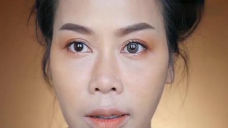 40岁大姐素颜就像个黄脸婆,画上精美的妆容后,摇身变漂亮女神