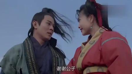 倚天屠龙记:邱淑贞想服侍李连杰,李连杰的回复很爷们!