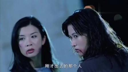 怒吼狂花:香港大姐大持开山刀砍张耀扬,一刀插入张耀扬后背!