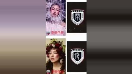 西安化妆培训学校排行榜金栗栗红强美容美发化妆学校学生创作作品欣赏 (2)