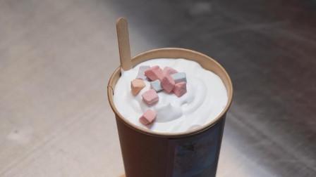 韩国桃子奶茶居然没有桃子?却有着桃子的味道!堪称神奇了