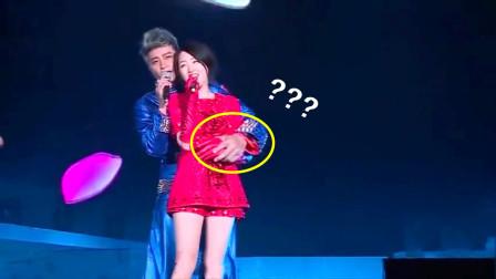 杨钰莹太美了!陈志朋和她唱《滚滚红尘》,情到深处都忍不住相拥!
