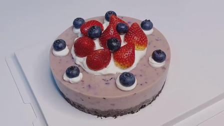 无需烤箱的慕斯蛋糕,好看又好吃,快来试试吧