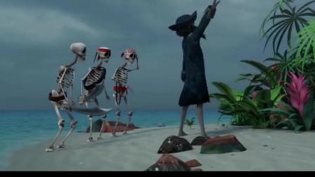 爆笑虫子第四季 海盗将行, 第一步搜刮小岛