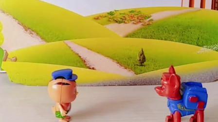大宇戴了顶帽子,阿奇说帽子是自己的,小朋友觉得帽子是谁的?