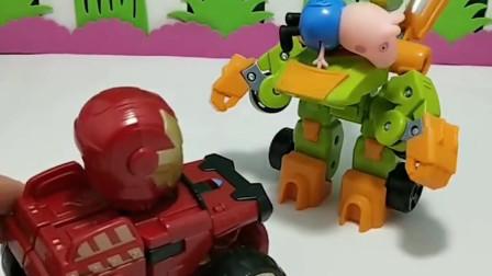 僵尸抓了乔治,钢铁侠想要救他,你能帮帮他吗?