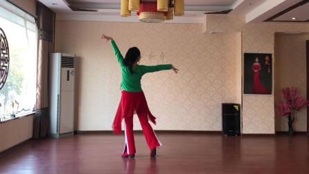 美久广场舞《321动起来吧》背面演示 详细欢快时尚