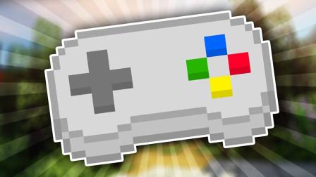 用手柄玩Minecraft生存可以生存下去吗?