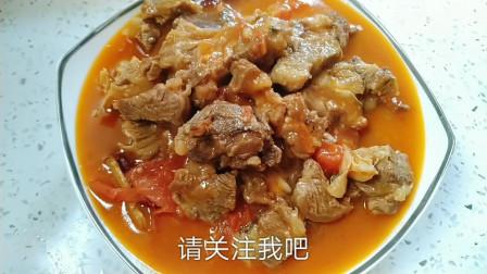 番茄炖牛腩的家常做法,汤浓肉软喷香美味,冬天家人的最爱