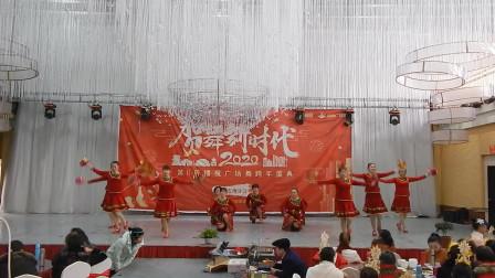 绵阳高新区享乐舞队舞蹈《幺妹家住十三寨》