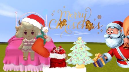 """迷你世界:圣诞老人在圣诞袜子里放了""""变形金刚""""!你收到了吗?"""