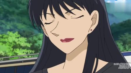 名侦探柯南:小五郎去当保镖,保护女明星,半夜柯南受惊吓!