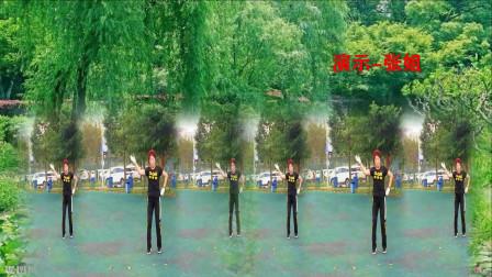 四川成都张姐演示邵东跳跳乐19套快乐舞步瘦身操第9节   编操-朱晓敏