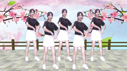 网络热歌广场舞《你是我的人》歌词幽默好听,舞步动感又好看