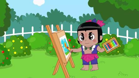 葫芦娃儿歌:小画家 小朋友长大之后想要做一个小画家吗