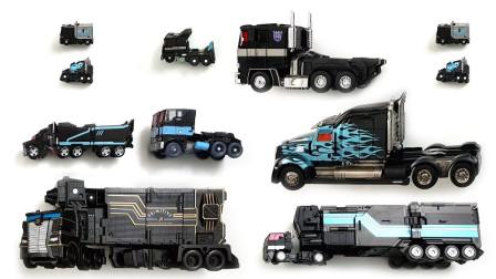 大卡车变形机器人战士