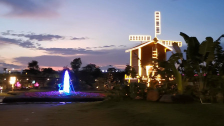 一本太极,美丽乡村,塘埔夜色二