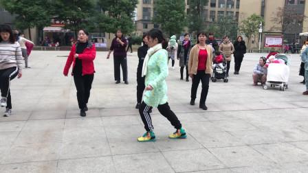 鬼步舞《奔跑》侧面教学,老师标准动作示范,看完轻松学