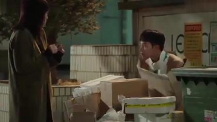 心里的声音:赵石的纸衣服被扒,误以为他是暴露狂,疯狂逃命!
