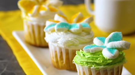 五分钟快速食谱 教你制作可爱的纸杯蛋糕,有味有颜值!