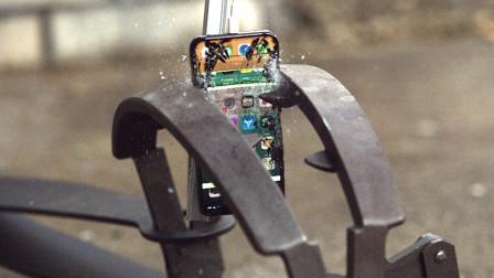 捕兽夹一瞬间的威力有多大?用iPhone试试,隔着屏幕都能感受!