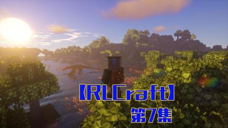 矿坑奇遇蛇女助攻p7——甜萝酱我的世界Minecraft【RLCraft】整合包生存
